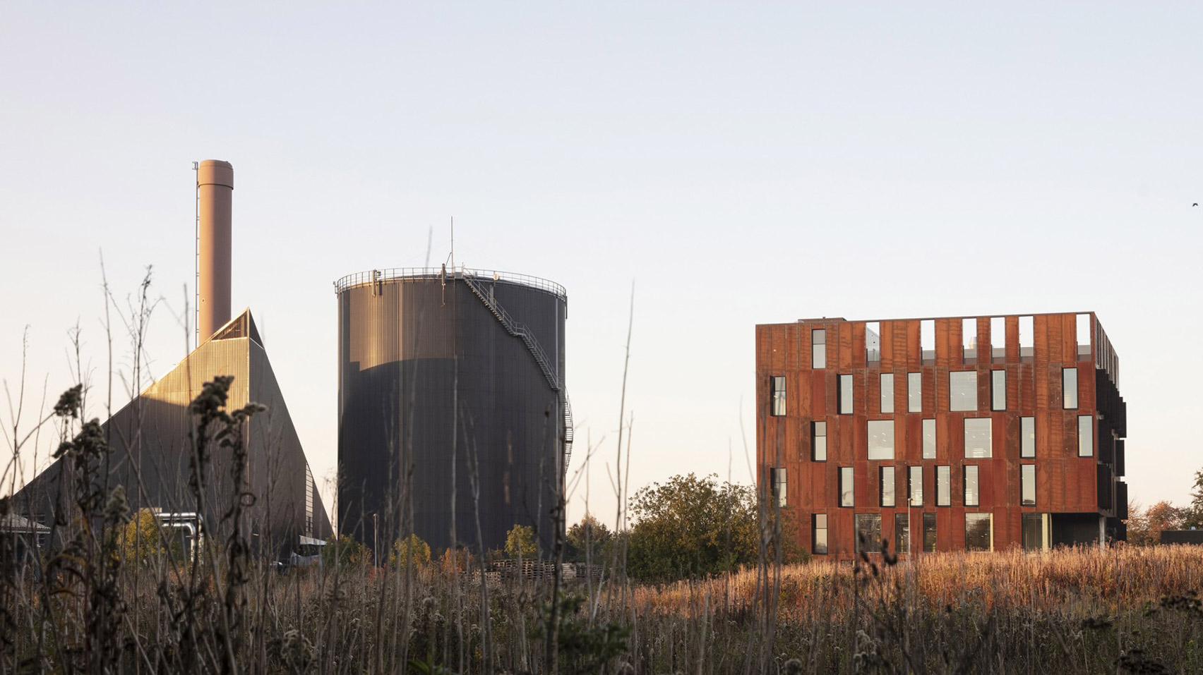 Forsyning Helsingør Operations Centre by Christensen & Co