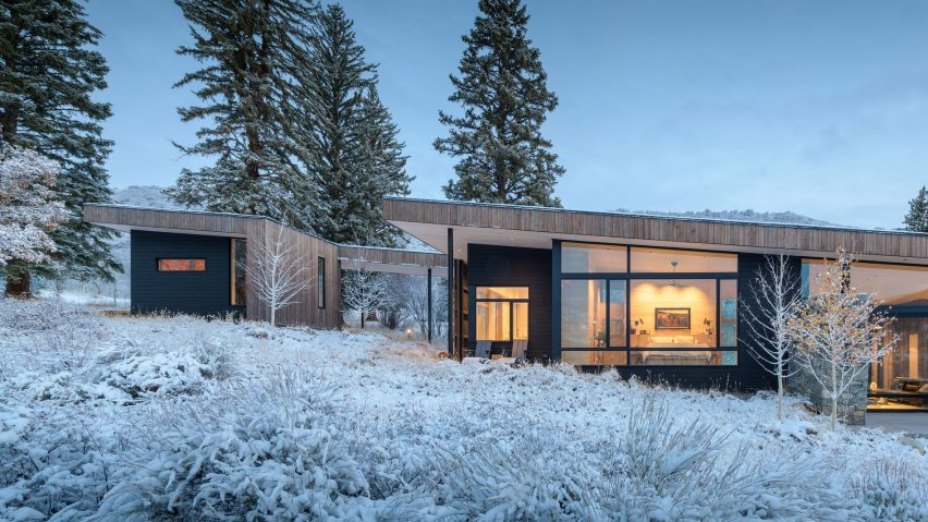 Gammel Dam by CCY Architects embraces rugged setting in Colorado's Rocky Mountains