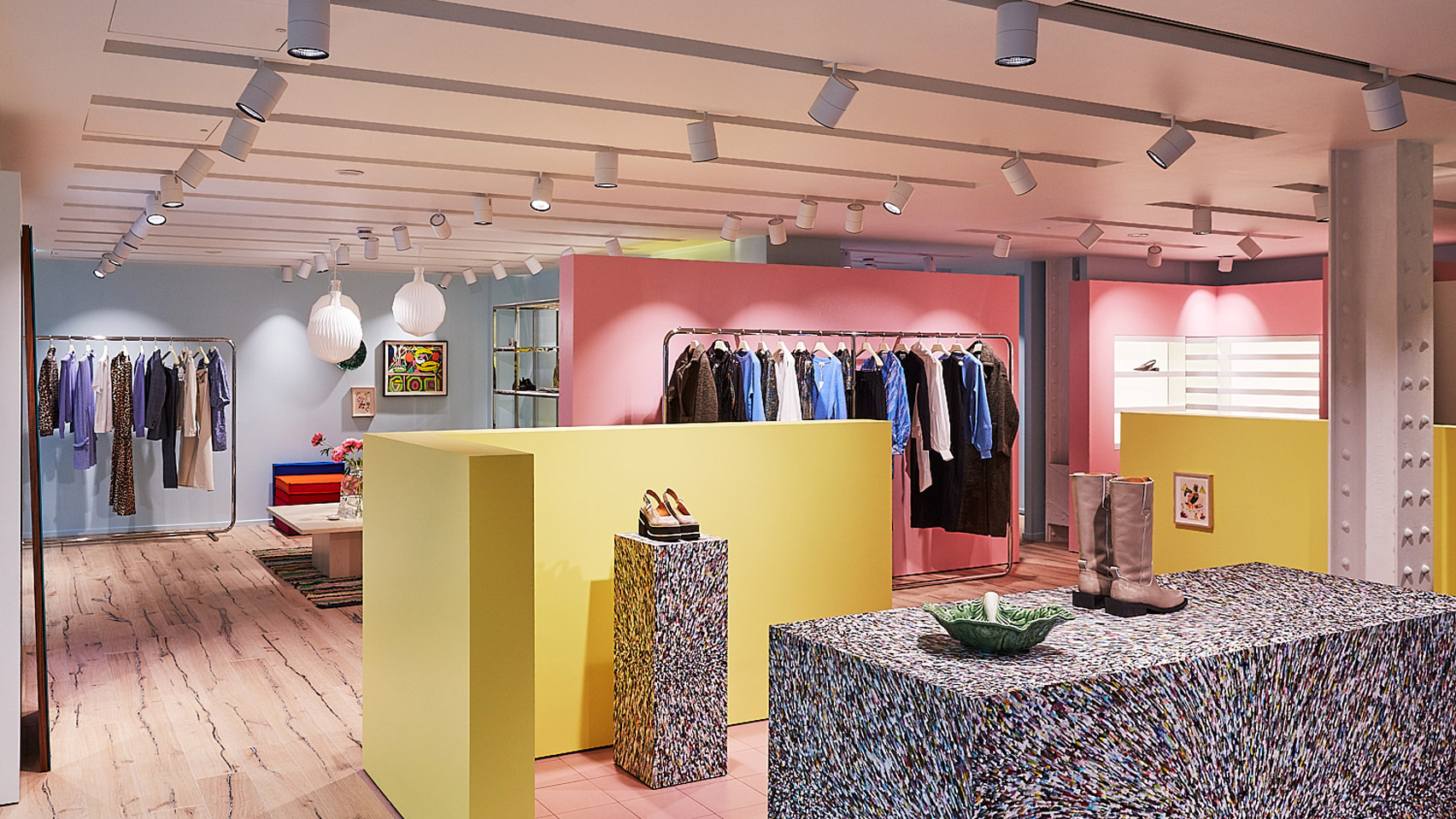 Ganni Beak Street Is First Uk Flagship And Resembles A Danish Home