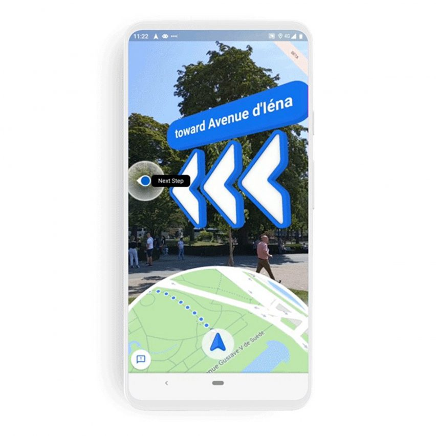 Google Maps Launches Ar Walking Directions Called Live View