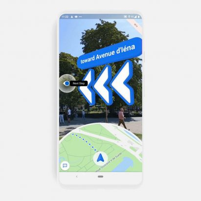 Google Maps launches Live View AR walking directions