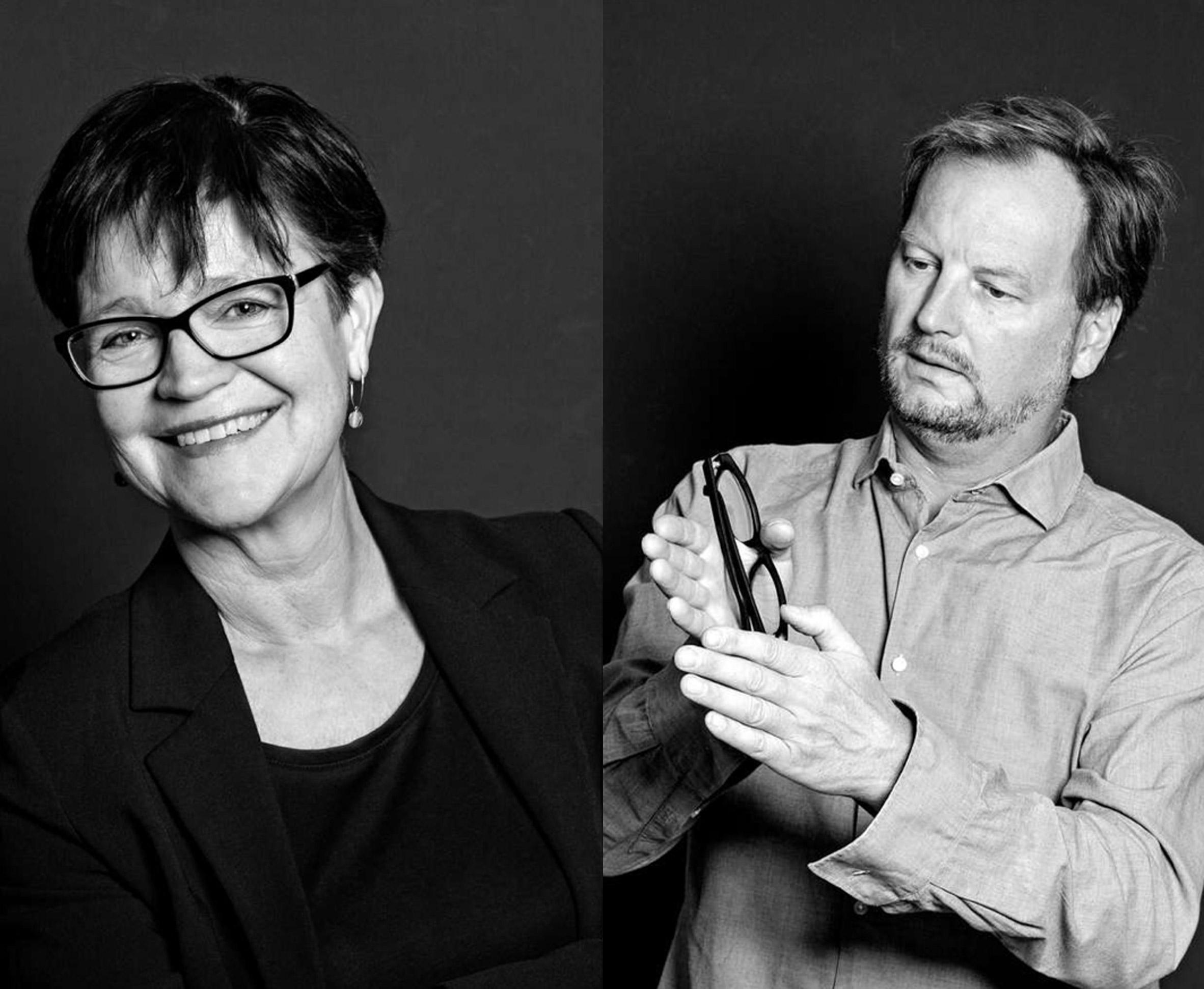 Mette Kynne Frandsen and Louis Becker portraits