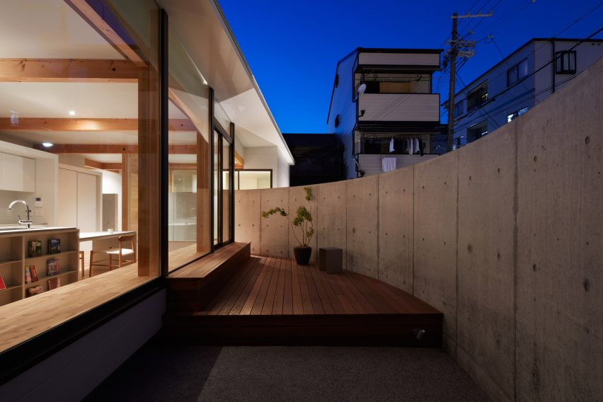 House in Konohana by FujiwaraMuro Architects