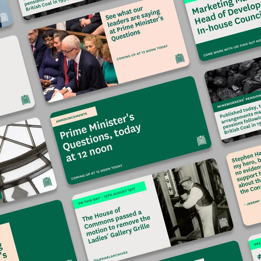 House of Commons rebrand by Someone