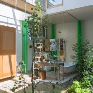 House in Tsukimiyama in Kobe, Japan, by Tato Architects