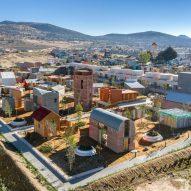 Experimental Mexican community contains social housing by Tatiana Bilbao and Frida Escobedo