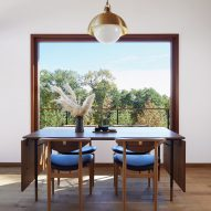 Magdalena Keck fuses Japanese and Danish design in Upstate New York home