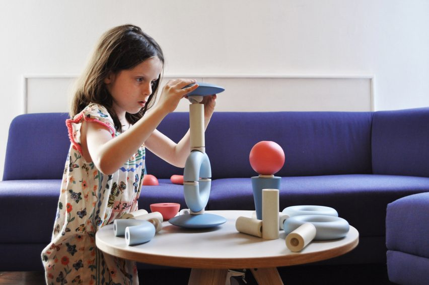 Royal College of Art graduate Alessandra Fumagalli Romario designed Imaginary Language as a tool to foster creativity in children and actors
