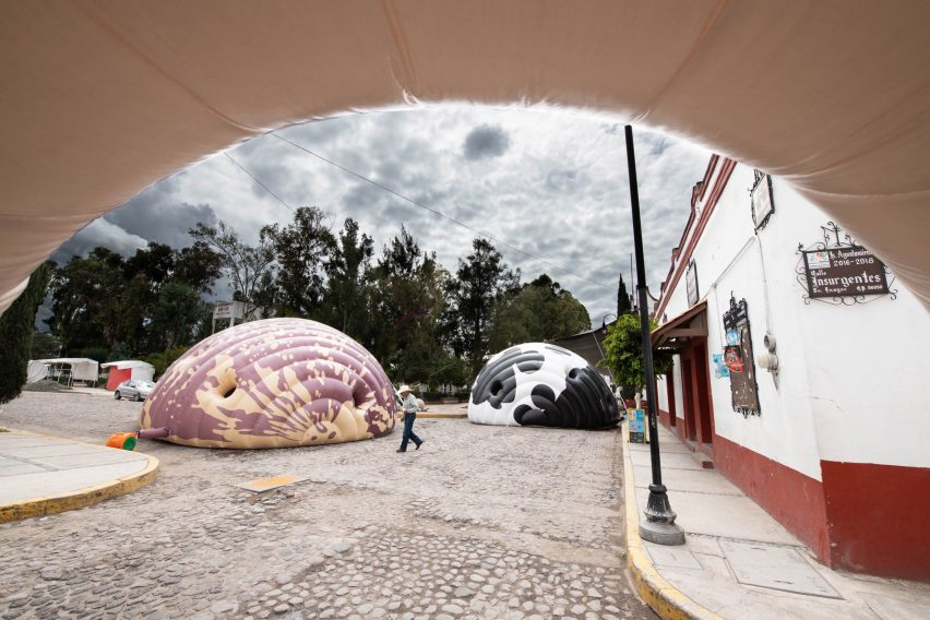 Inflatable Beans by Norberto Miranda