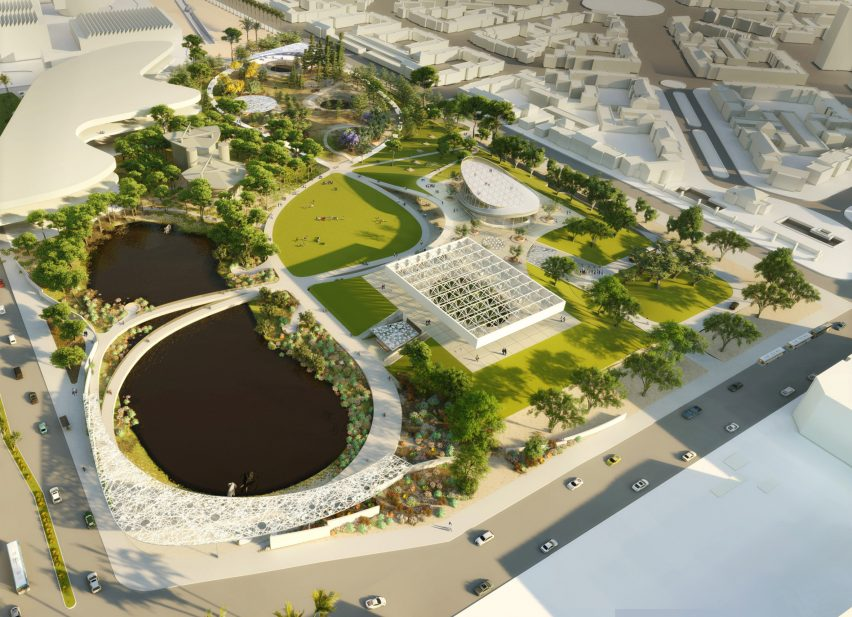 La Brea Tar Pits by Dorte Mandrup, Diller Scofidio + Renfro and WEISS/MANFREDI
