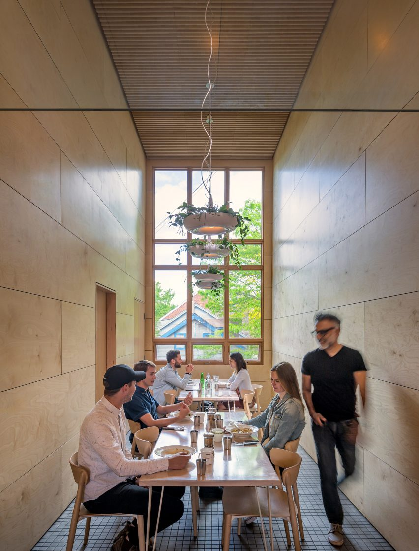 Lady Marmalade restaurant by Omar Gandhi and SvN