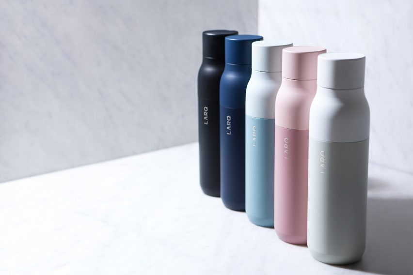 LARQ self-cleaning water bottle by LARQ