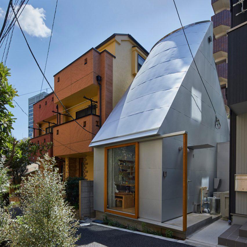 Dezeen's top 10 houses of 2019: Love2 House by Takeshi Hosaka