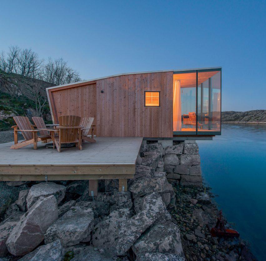 Manhausen Island Resort by Stinesson Arkitektur
