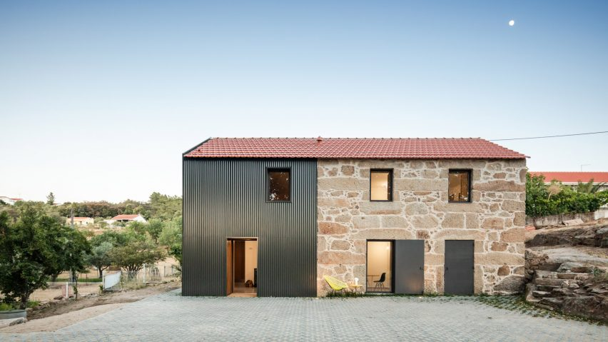 Filipe Pina and Maria Inês Costa bring abandoned Portuguese farmhouse back to life