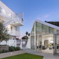 LOHA tops MLK1101 housing for Los Angeles' homeless with sloped green roof