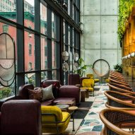 Rockwell Group and Yabu Pushelberg team up for Moxy Chelsea hotel