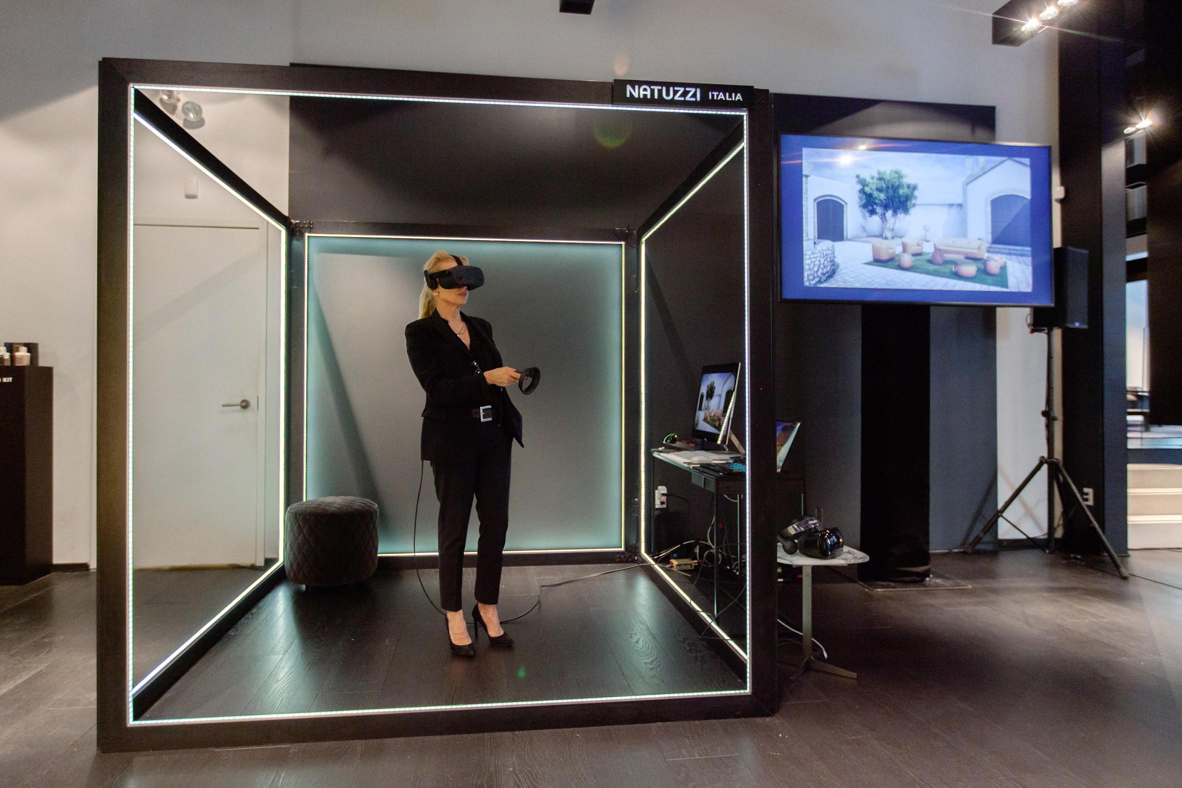 Design Bank Natuzzi.Natuzzi Launches Augmented Store For Vr Furniture Shopping