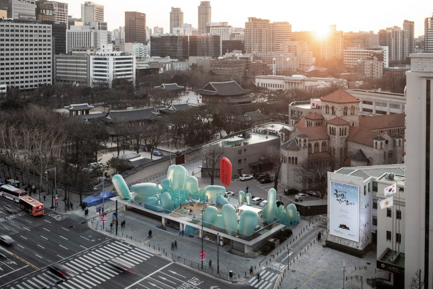 SKNYPL充气首尔花园