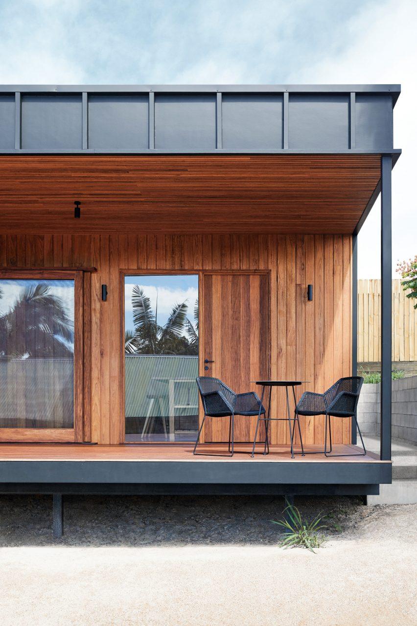 Veranda of OCM House by Studio Jackson Scott