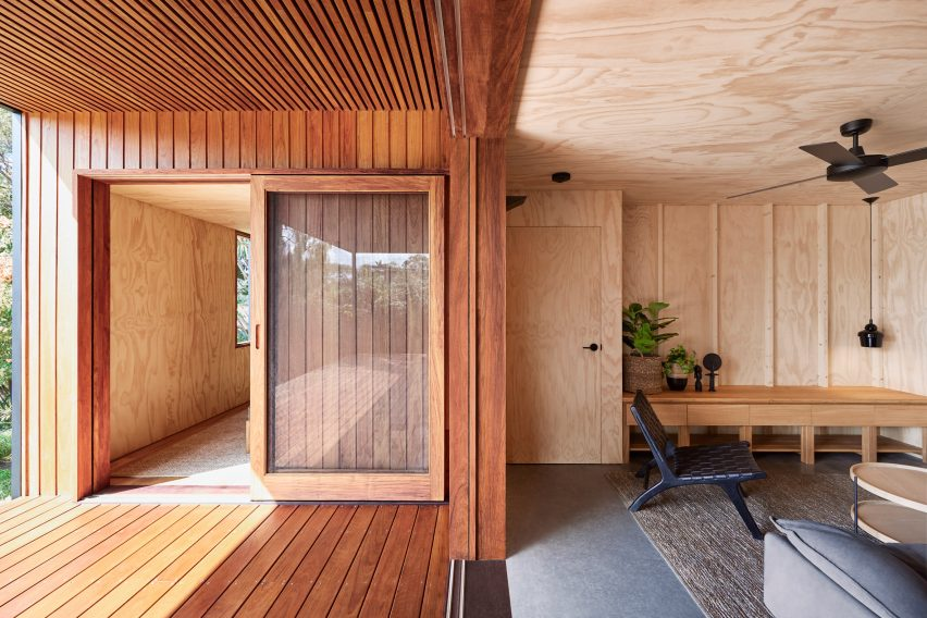 Entrance of OCM House by Studio Jackson Scott
