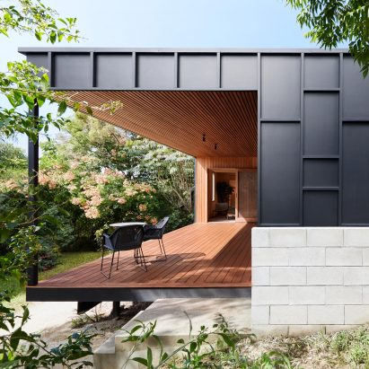 Exterior of OCM House by Studio Jackson Scott