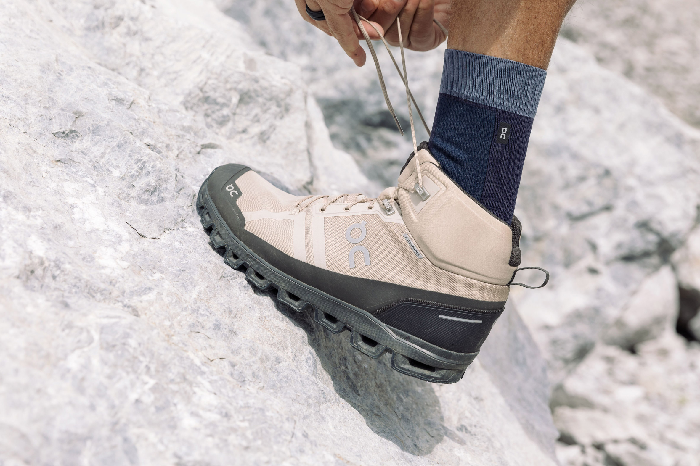 hiking with Cloudrock Waterproof boot