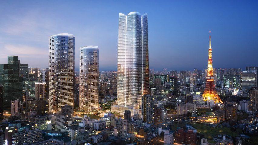 Pelli Clarke Pelli reveals Japan's tallest skyscraper in Tokyo
