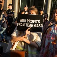 "Forensic Architecture ""delighted"" as Whitney vice chair resigns over tear-gas protests"