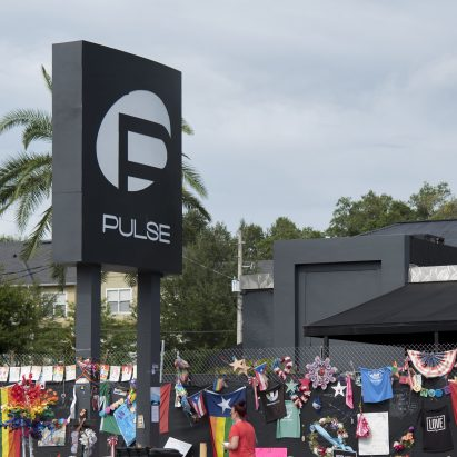 Pulse nightclub Orlando, Florida memorial from 2016 shooting