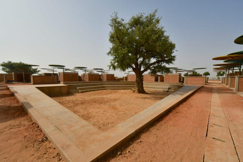 Dandaji market in Niger by Atelier Masomi