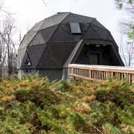 Geodesic dome cabin in New England gets major overhaul by Jess Cooney