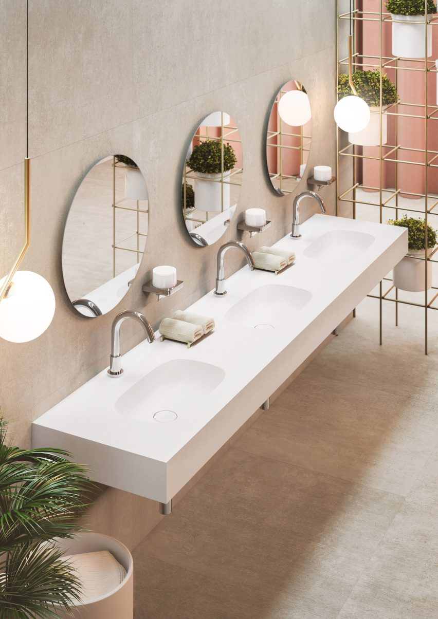 Roca launches bathroom collection made from Surfex