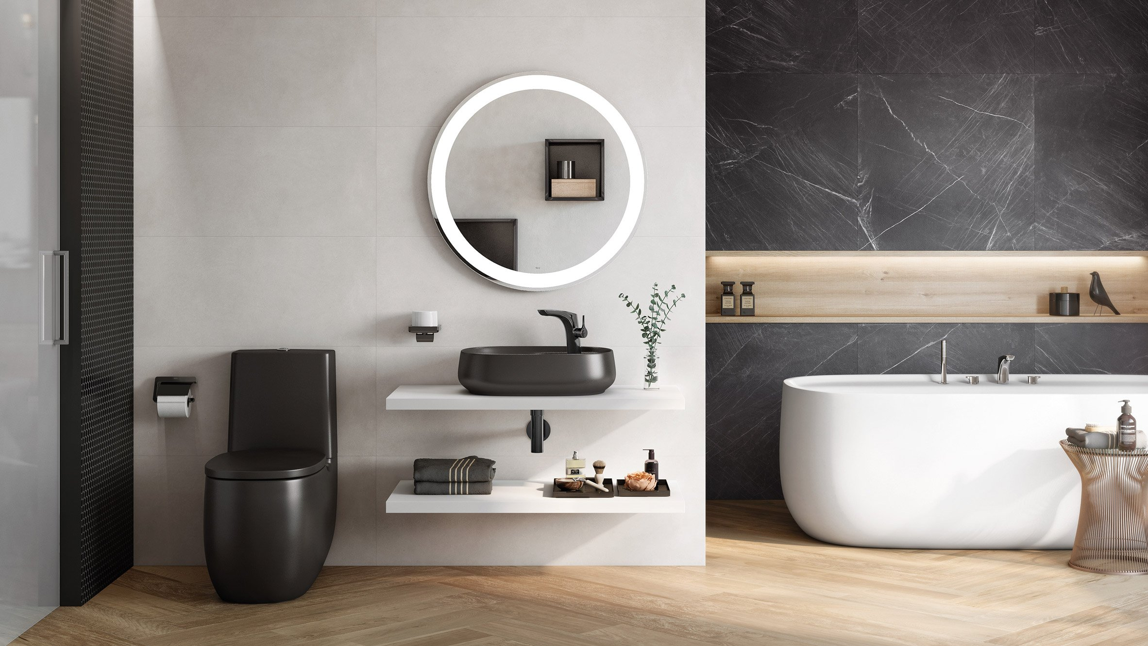 Roca Launches Bathroom Collection Made From Design Material ...
