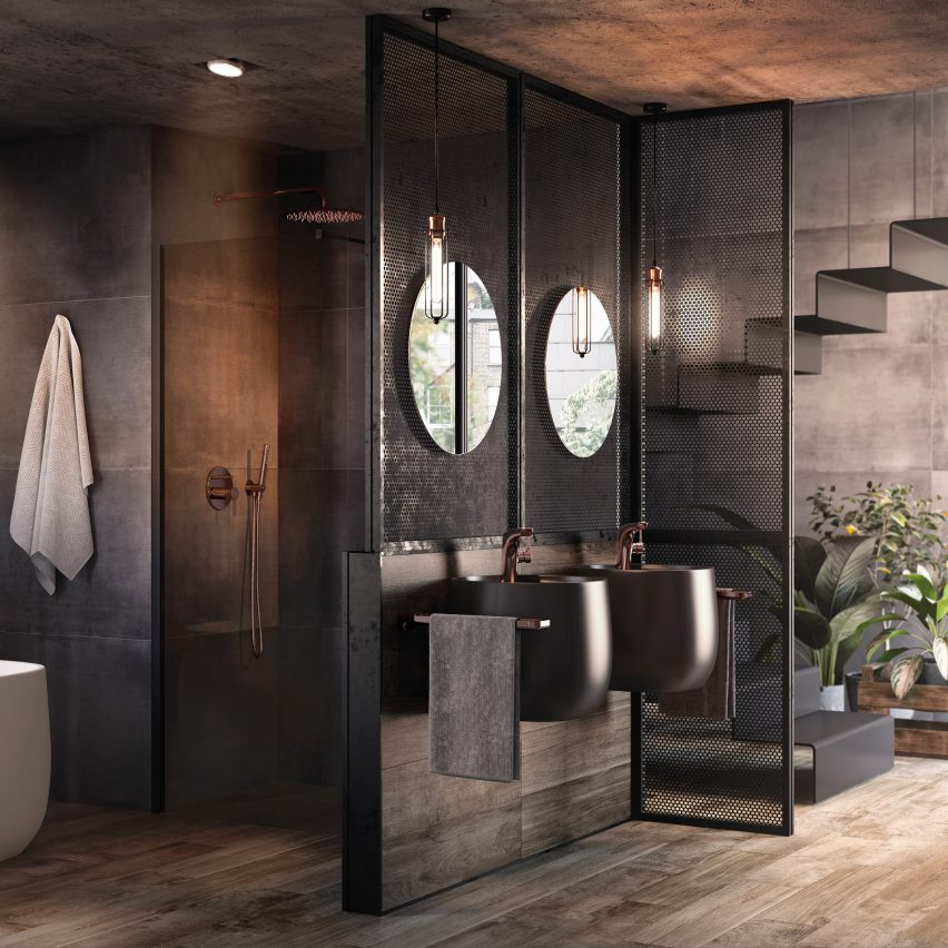 . Roca launches bathroom collection made from design material Surfex