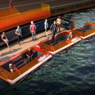 "RoundAround dynamic ""bridge"" is made of autonomous boats"