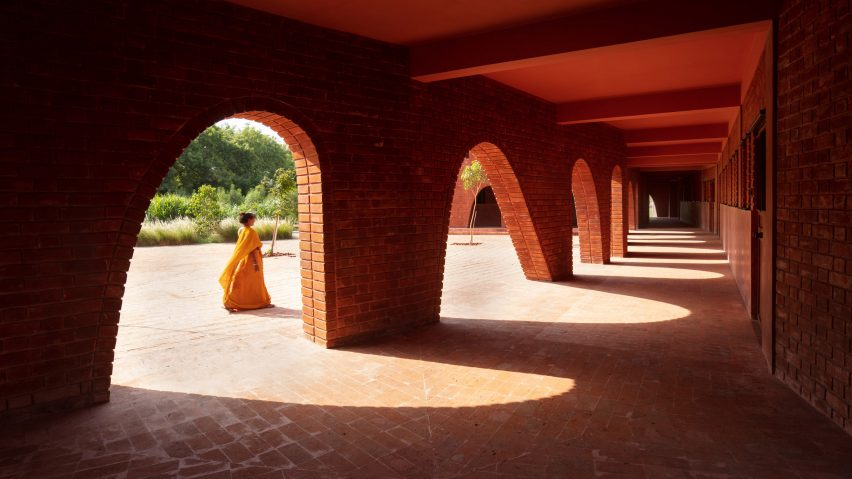 School of Dancing Arches by Samira Rathod Design Associates