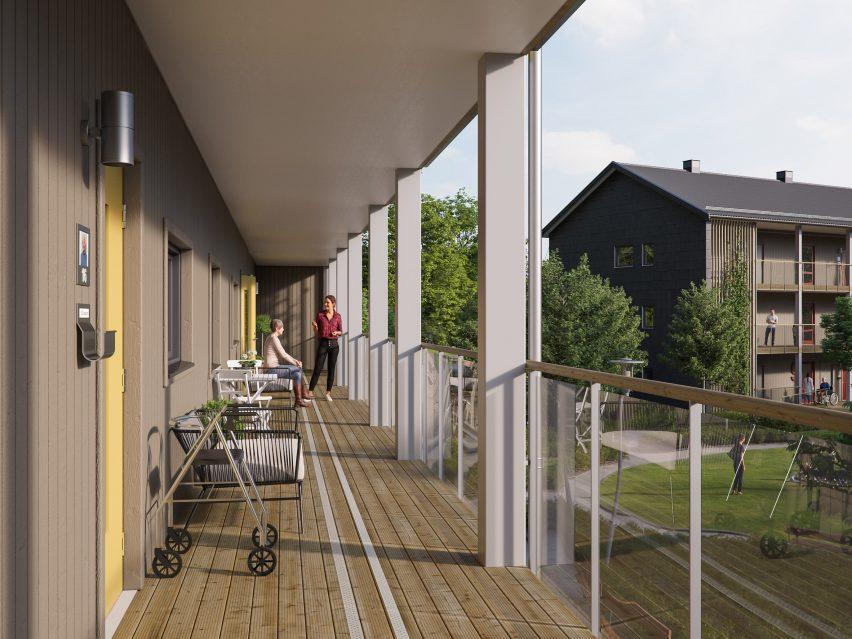 SilviaBo housing by BoKlok