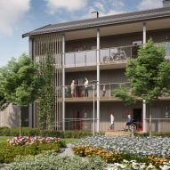 IKEA and Queen of Sweden adapt modular BoKlok housing for the elderly