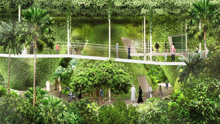 Singapore Pavilion for Dubai Expo 2020 by WOHA