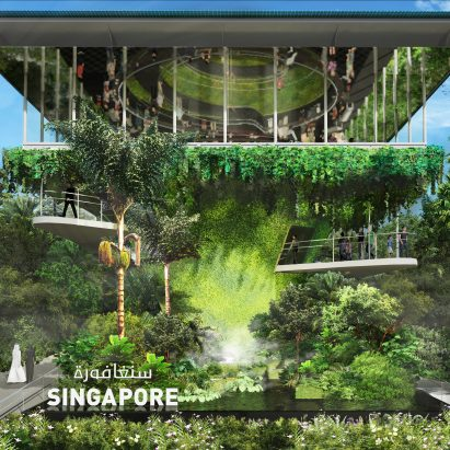 Singapore Pavilion for Dubai Expo 2020 by WOHA