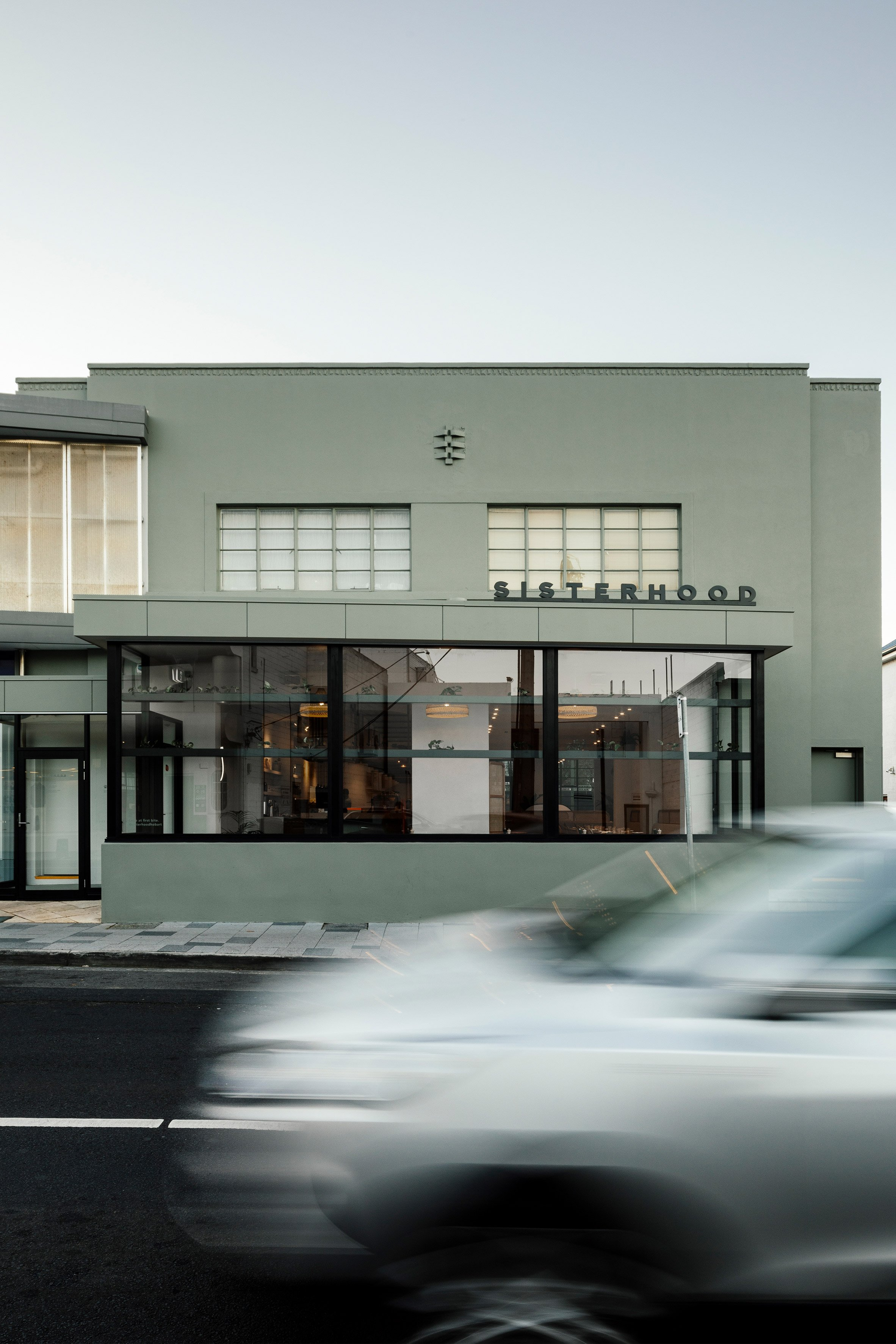 Sisterhood restaurant in Tasmania, designed by Biasol