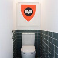 Toilet in Studio Represent wood office by Alder Brisco