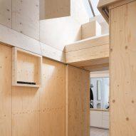 Studio Represent wood office by Alder Brisco