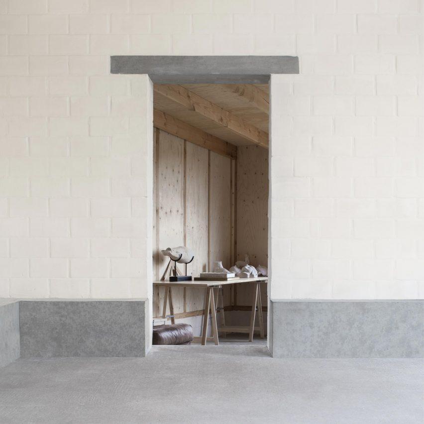 Stief Desmet studio by Graux & Baeyens Architecten