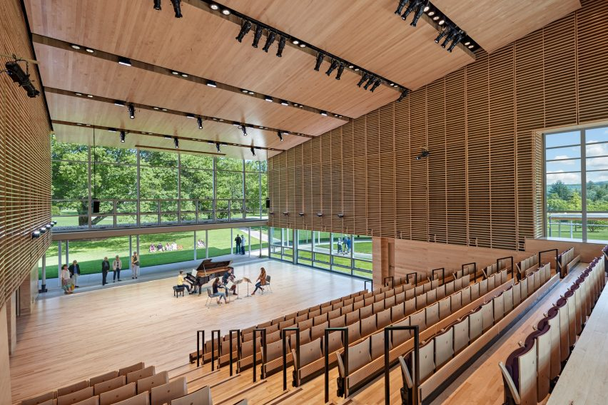 Linde Center for Music and Learning by William Rawn Associates Architects, Inc.
