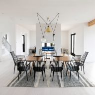 Michael Yarinsky enlivens Long Island house with the help of Brooklyn design studios