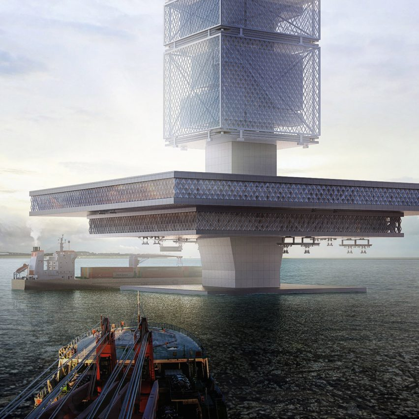 "Filtration Skyscrapers in the oceans could ""solve environmental and energy problems"" around the world"