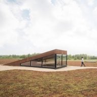 Henning Larsen tops Danish sewage works with park