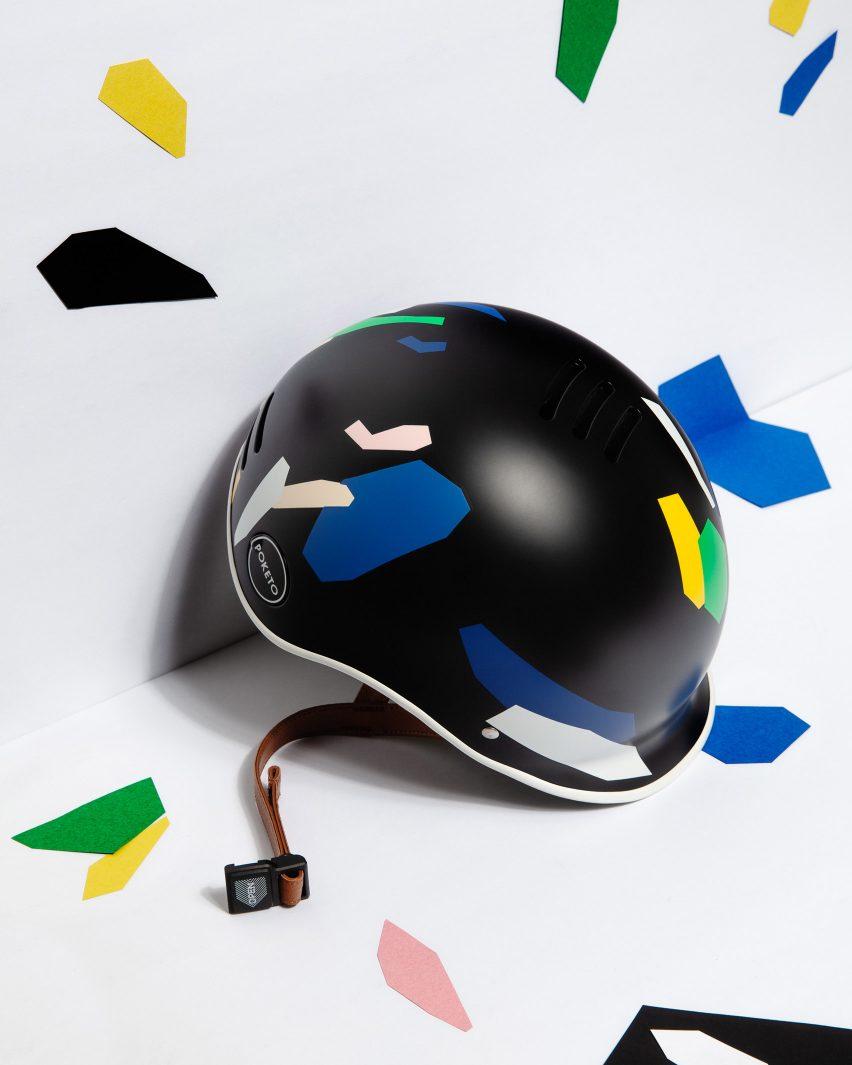 Thousand x Poketo bike helmets collection